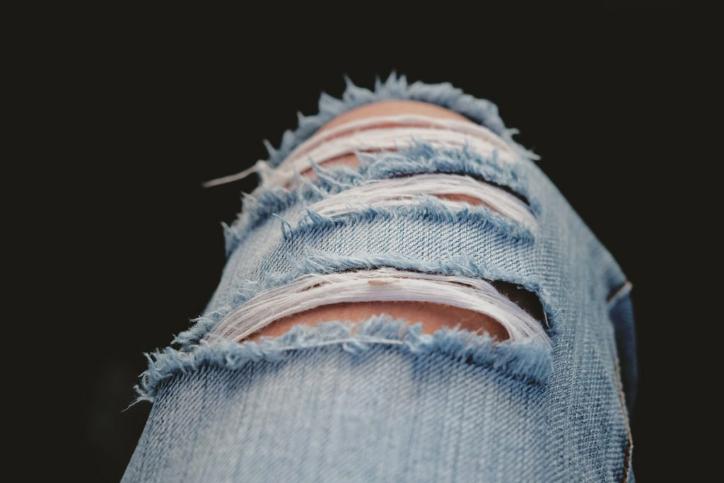 Ripped Jeans Destroyed