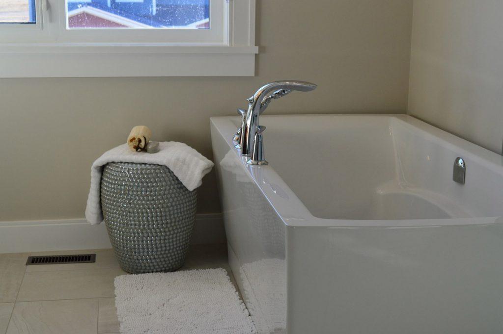 Badewanne Handtuch Badezimmer
