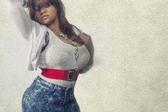 Plussize Jeans Frau