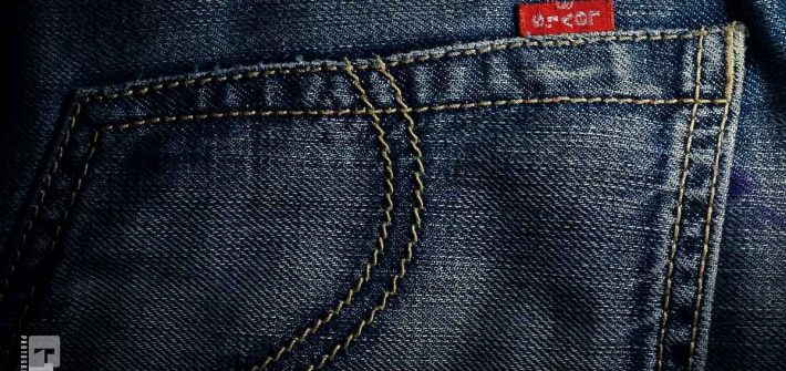 Denim Hosentasche Levis