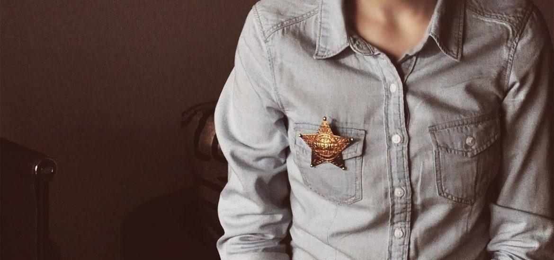 Sheriff Jeanshemd Männermode