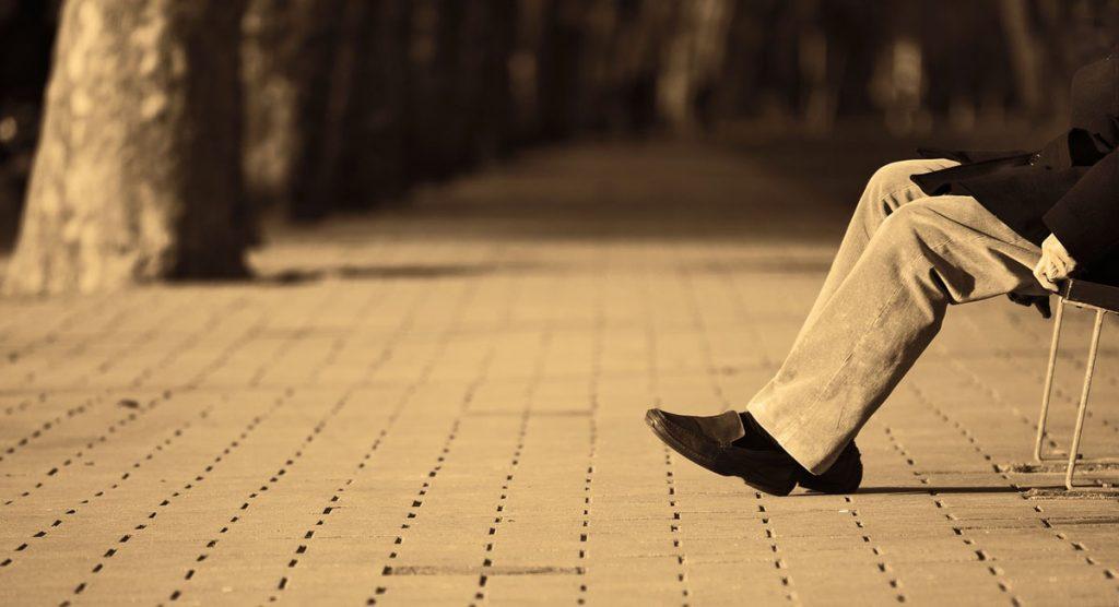 Cordhose Schuh Männermode