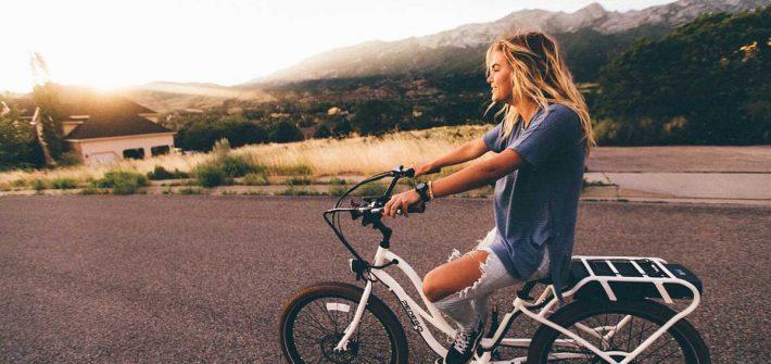 Fahrrad Hippie Look