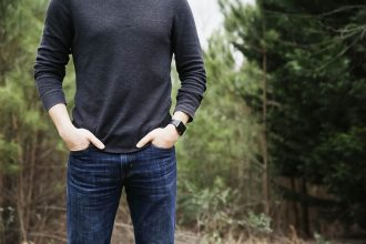 Herrenjeans iwatch Pullover