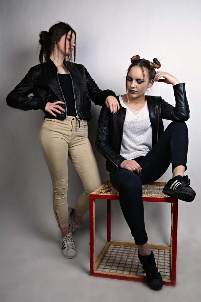 Jeans Streetstyle Frauen