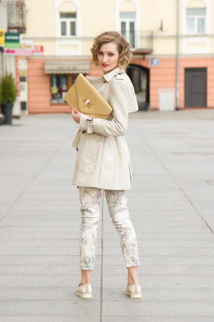 Jeans Print Tasche