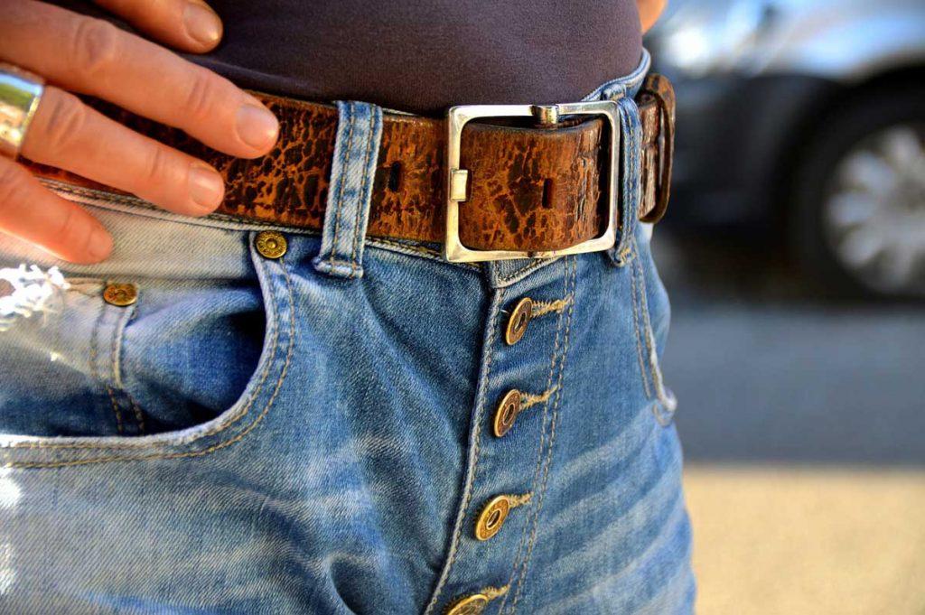 Gürtel Gürtelschlaufen Jeanshose