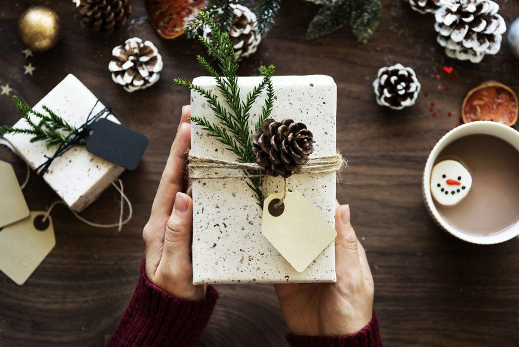 Geschenk Weihnachtsgeschenk Tasse Kakao