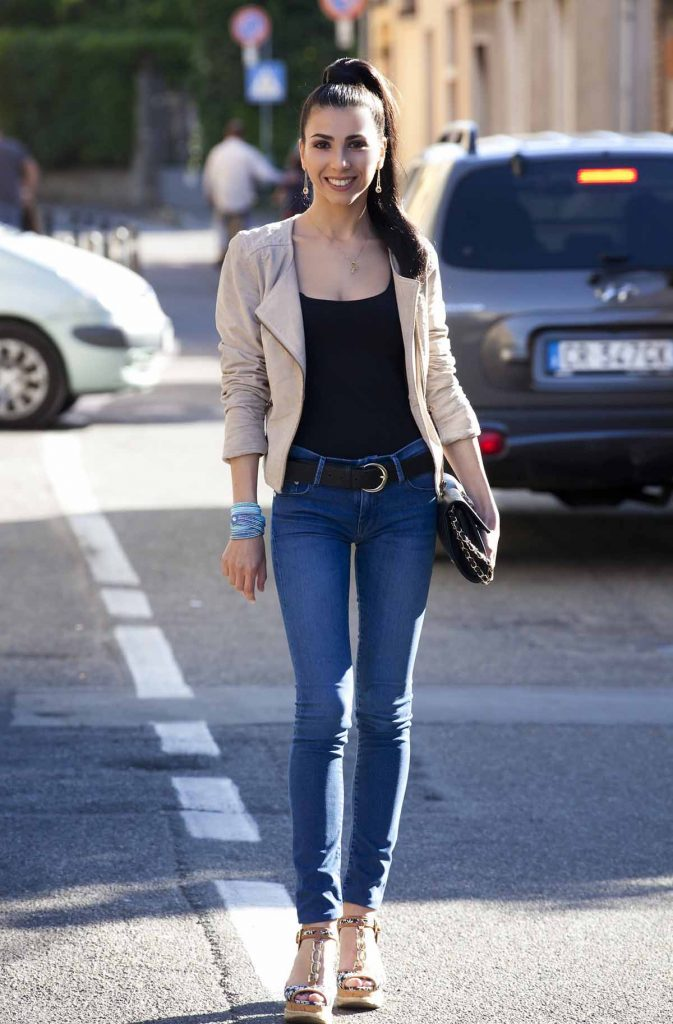 Skinny Jeans Damenjeans Outfit