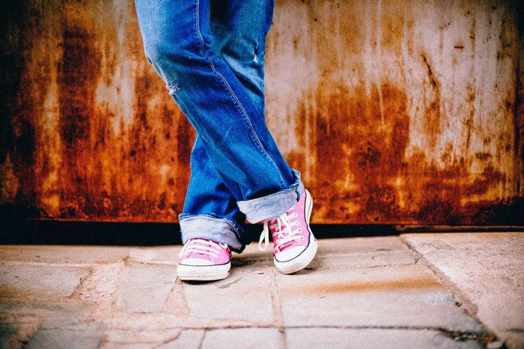 Wide Fit Jeans Damen