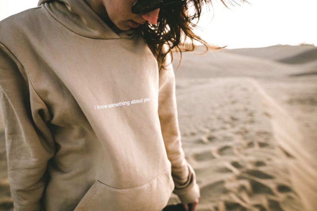statement hoodie damen pullover