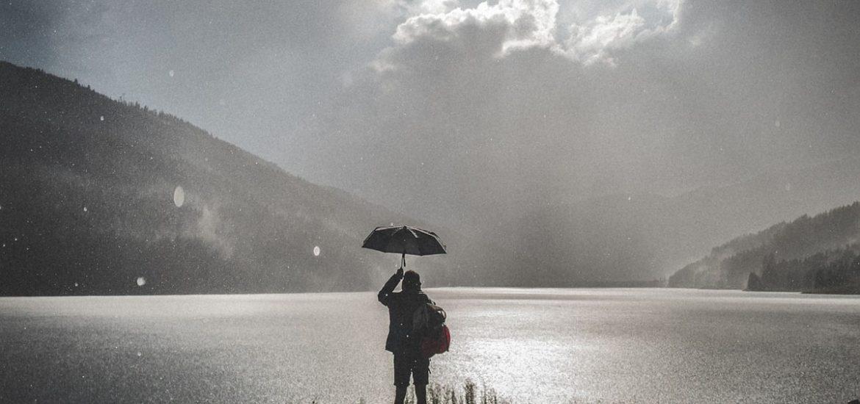 regen regenschirm shorts wandern