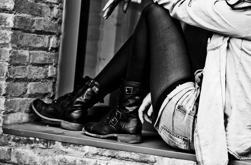 boots strumpfhose jeans shorts