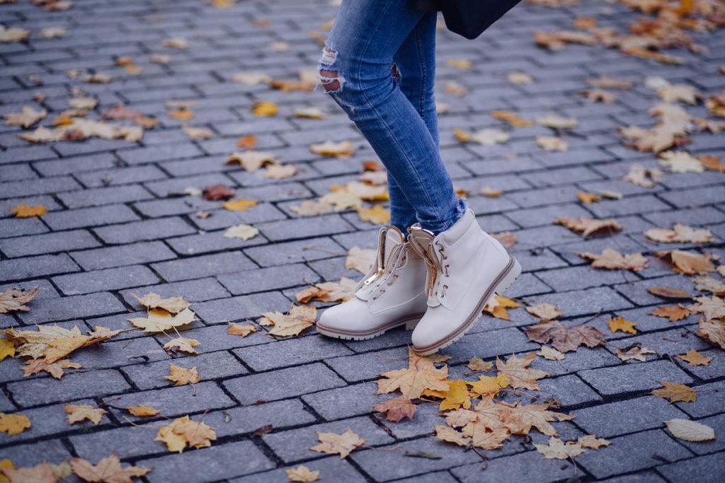 stiefel jeanshose herbst schuhe