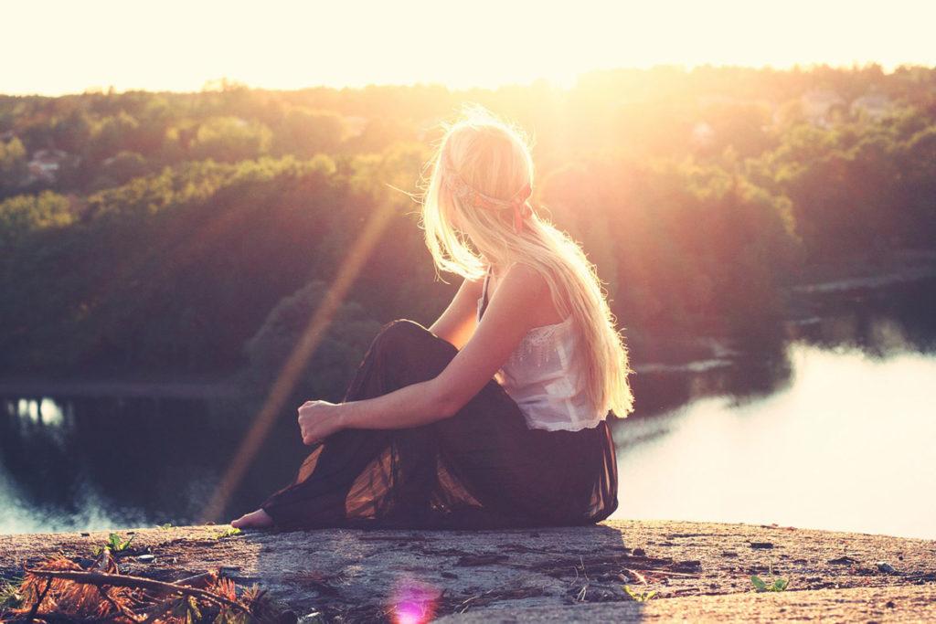 sonnenschein top tüllrock blondine